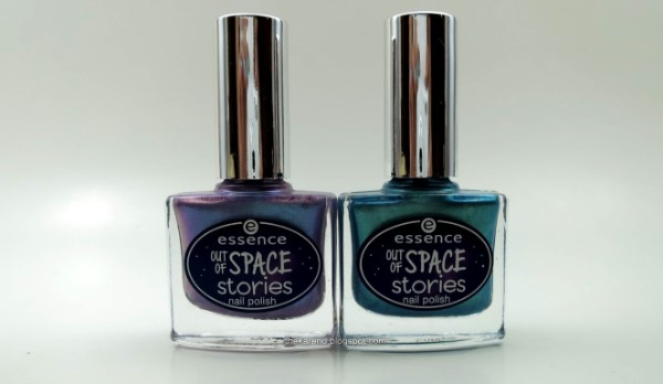 Essence Out of Space Stories nail polish Mermaid of the Galaxy and Guardians of the Unicorn