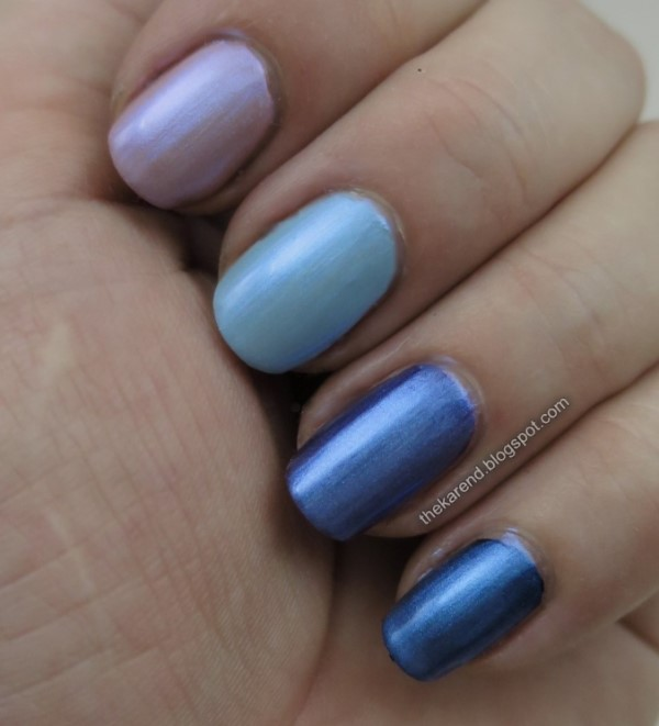 Seche Special Effects Blue Opal nail polish