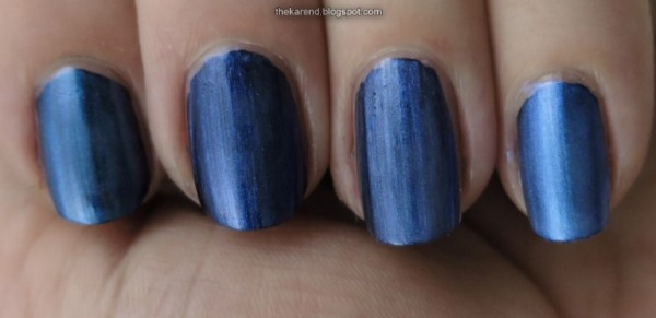 Seche Special Effects Blue Opal nail polish comparison