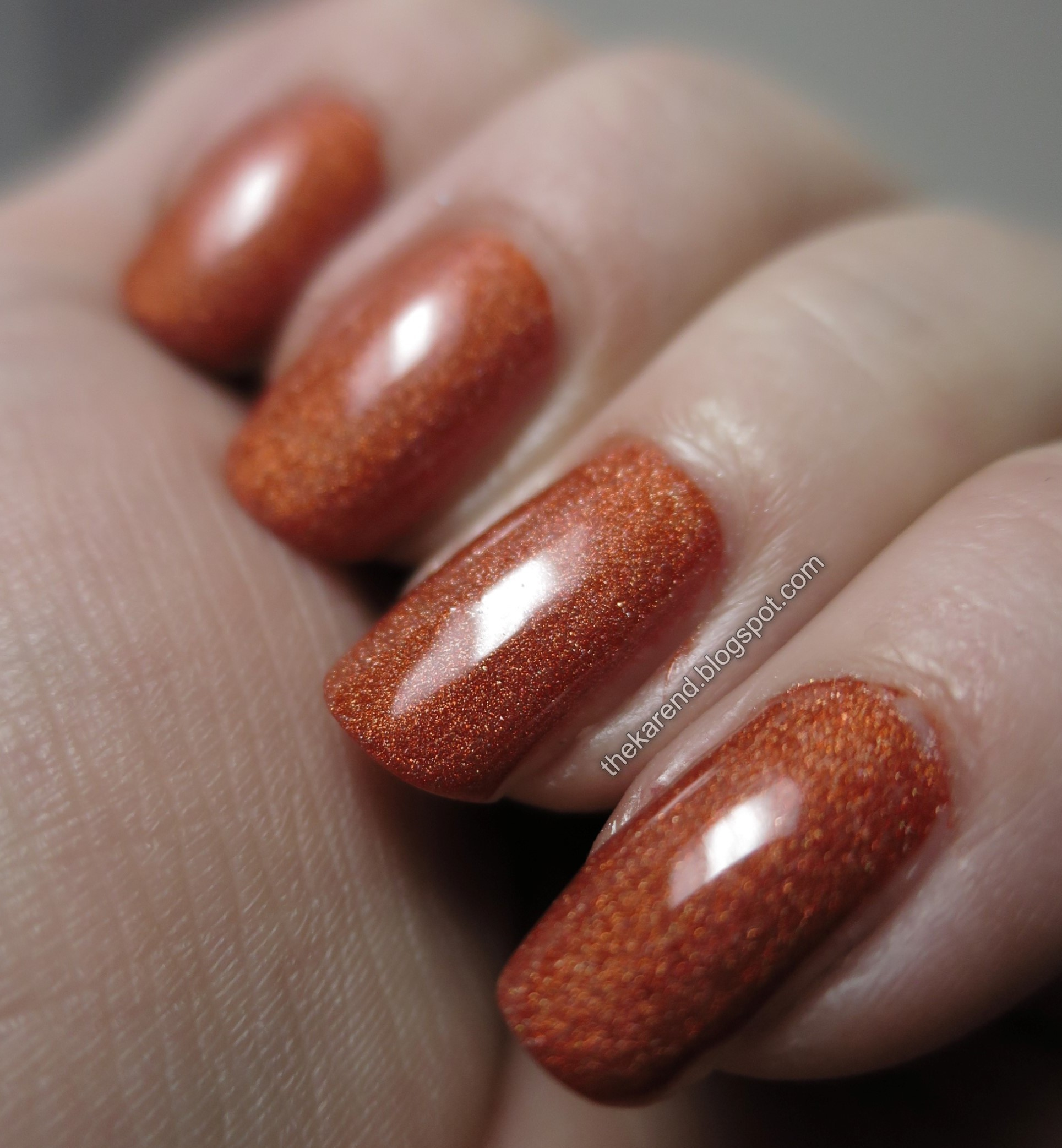 Salon Perfect Drop Dead Gore-geous Swatches   Frazzle and