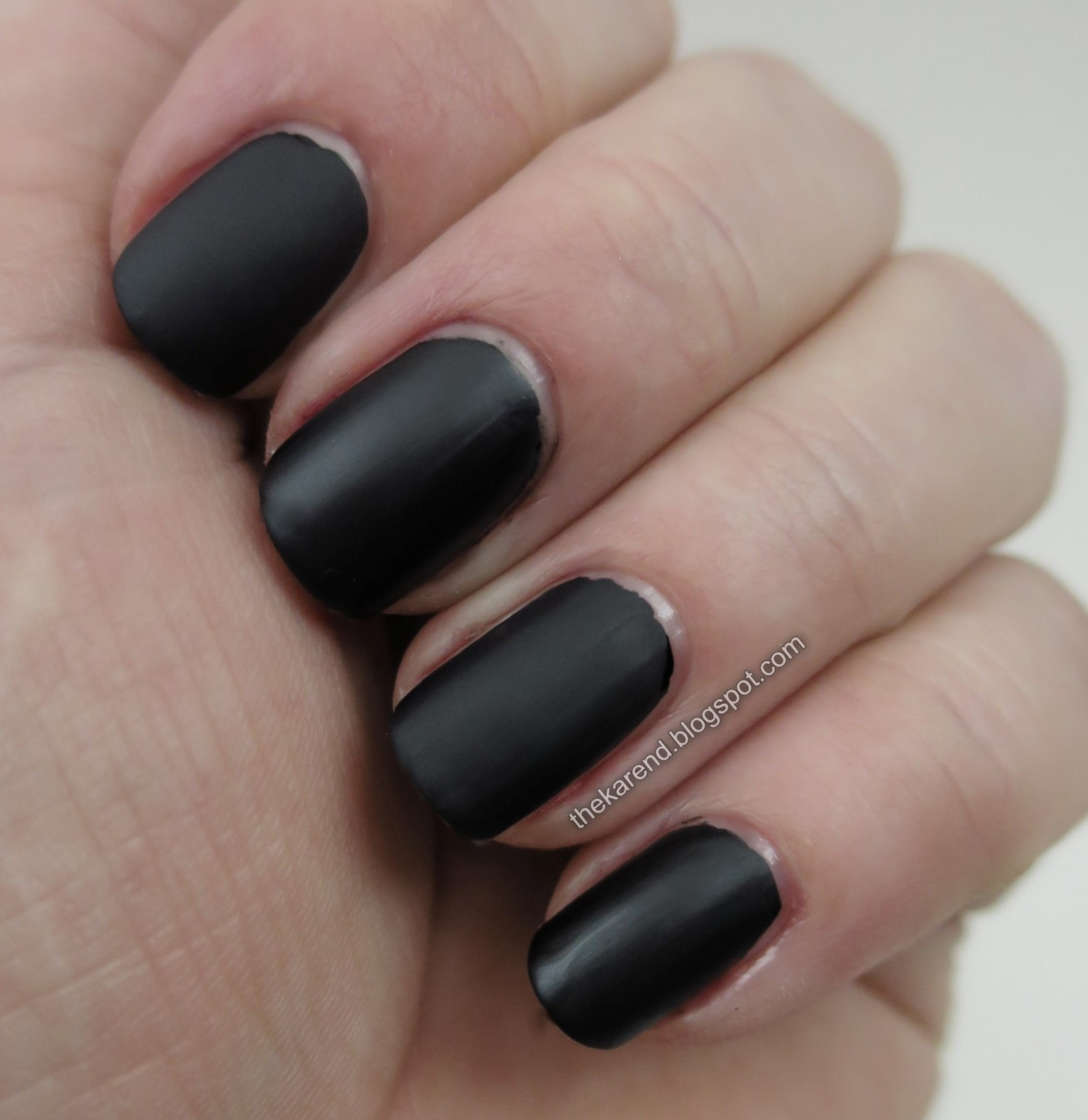2ad69fa88ba The Sally Hansen Complete Salon (which I got in Canada) dries the least  matte of this group