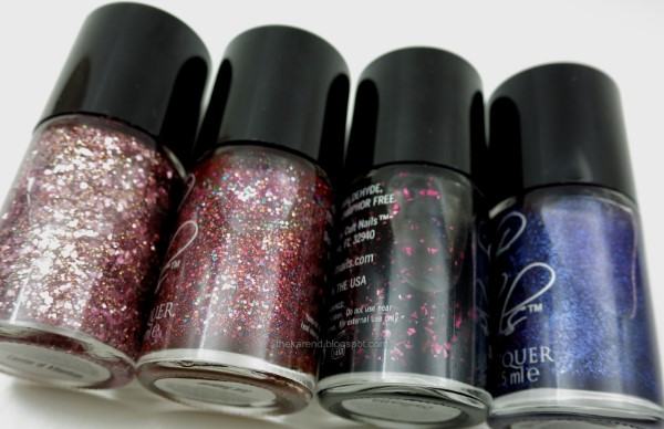 Cult Nails nail polish glitters