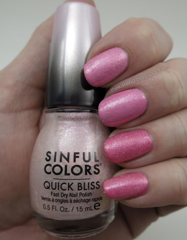 SinfulColors Quick Bliss Ice Ice Cherry