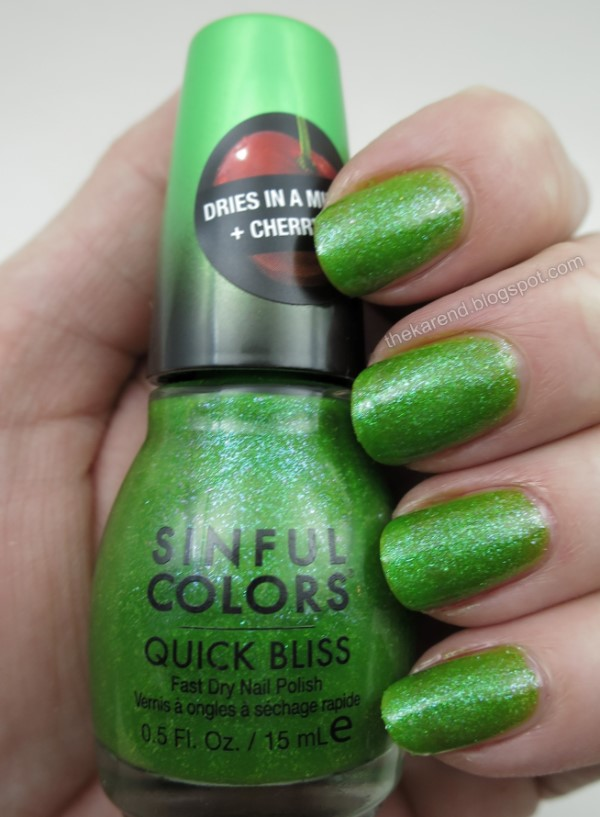 SinfulColors Quick Bliss Bite