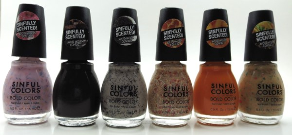 Sinful Colors Sweet & Salty nail polish collection