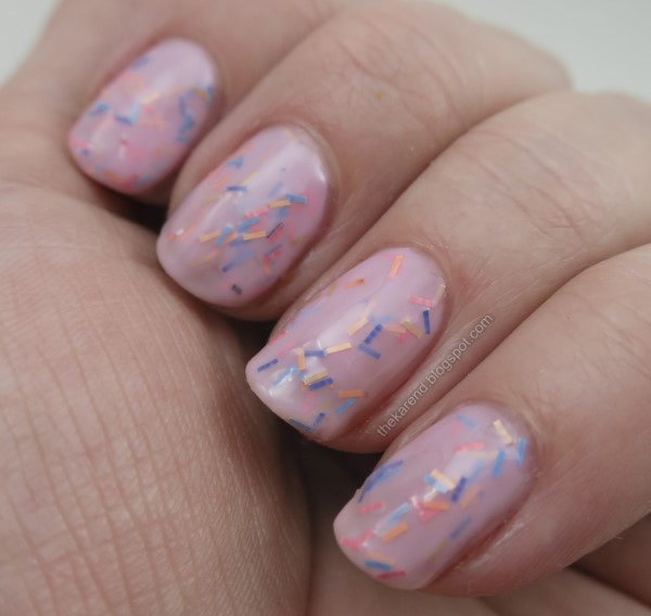 Sinful Colors Sweet & Salty nail polish collection Donut Even