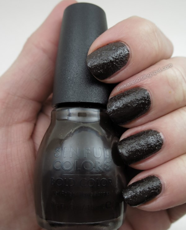 Sinful Colors Sweet & Salty nail polish collection Chocolate Cake