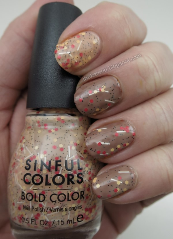 Sinful Colors Sweet & Salty nail polish collection Pizza Party