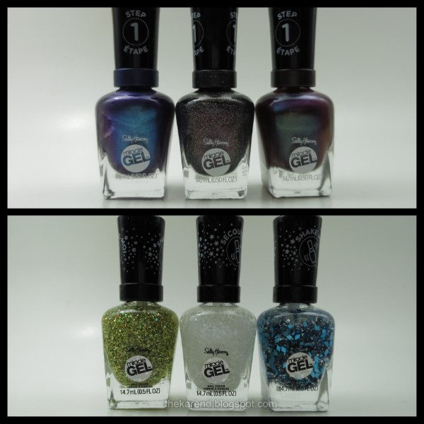 Sally Hansen Miracle Gel Marine Metals and Snow Globes