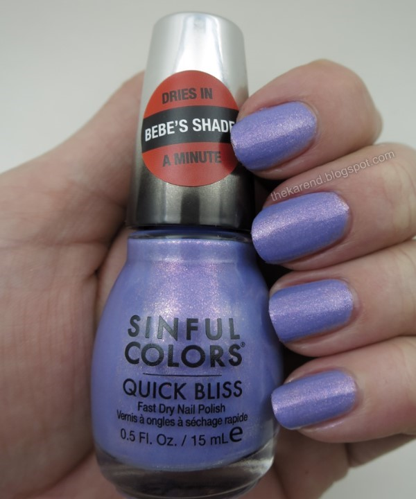 SinfulColors Quick Bliss Vvvroom