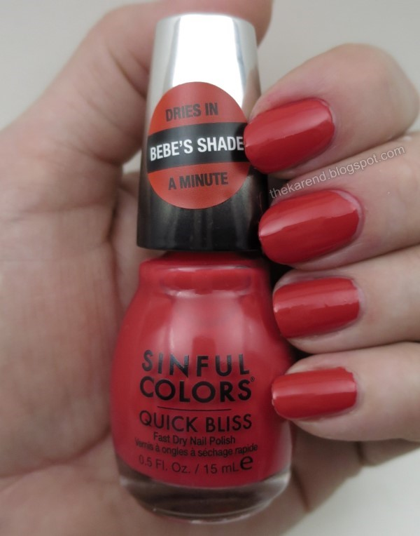 SinfulColors Quick Bliss Speedster