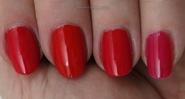 SinfulColors Quick Bliss reds