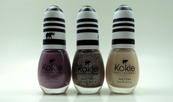 Kokie Mystic Mauve, Celestial, and Blossom