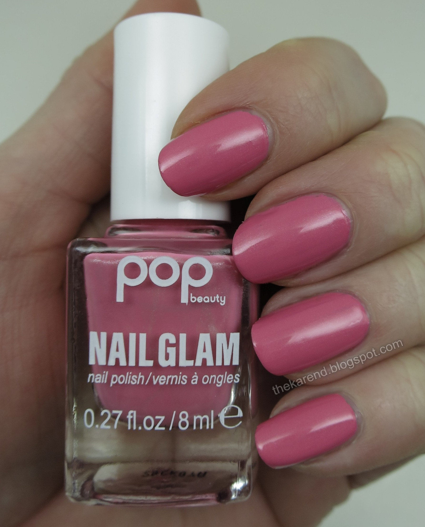 Pop Beauty Nail Glam ZZZ Pink